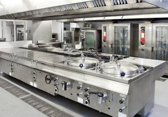 Thiết kế và thi công bếp ăn công nghiệp
