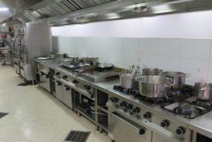 Sơ đồ bếp 1 chiều trường mầm non